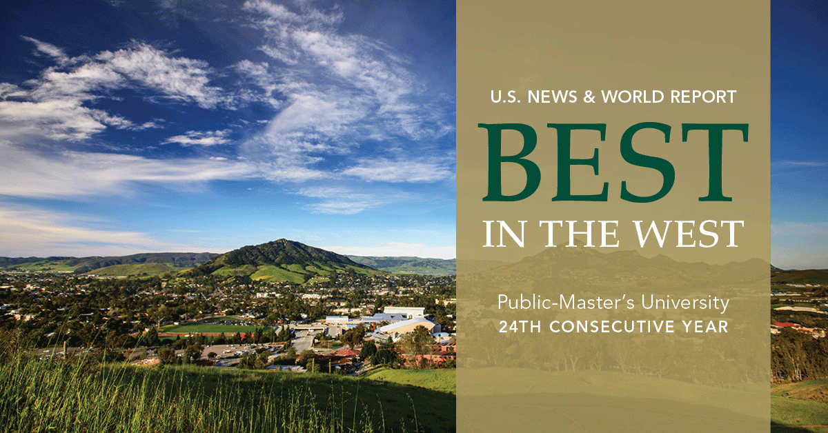 cal poly us news and world report