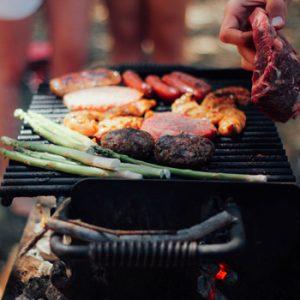 A summertime BBQ