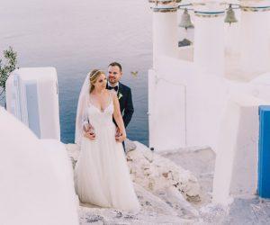 Alumni Matthew Ceppi on his wedding day with Megan Curran Ceppi