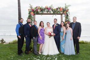 Stephanie Hall and John Krakowski wedding photo