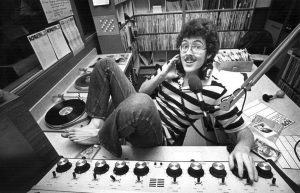 Wierd Al Yankovic in the KCPR DJ booth