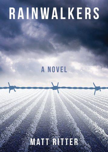 The cover of Matt Ritter's novel, Rainwalkers