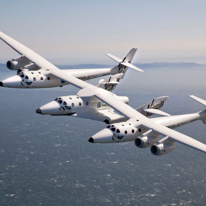 The Virgin Galactic SpaceShipOne